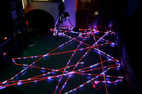 Robotic Light Art: Clean & Create with a Roomba Vacuum
