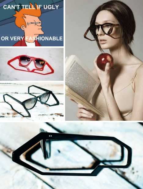 Clearly Cool: 15 Amazing Glasses, Sunglasses & Frames | Urbanist