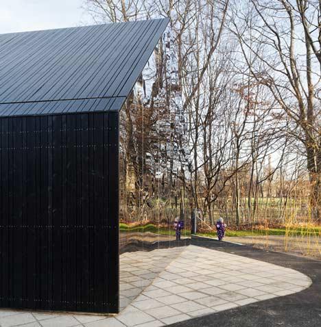 Mirror Mirror Playground Pavilion Gets Funhouse