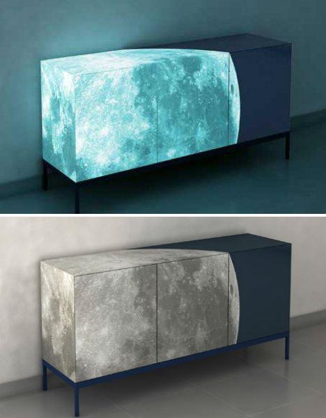 Glow In The Dark Furniture glow-in-the-dark home furniture lights up nights | urbanist