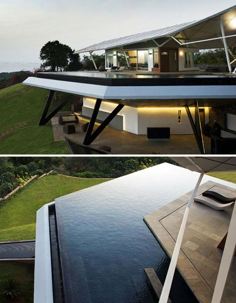 Hill House With Amazing Edgeless Pool