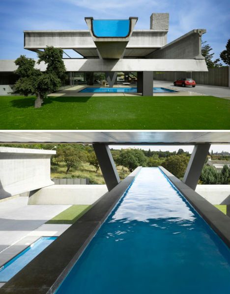 Hemeroscopium House Rooftop Infinity Pool