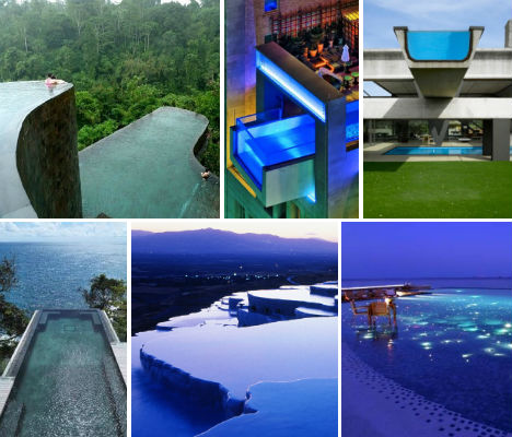 Invisible edges 15 death defying infinity pool designs urbanist - Infinity swimming pool designs ...