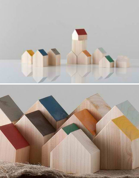 City shaped design 13 urban inspired objects urbanist for Houses for small blocks