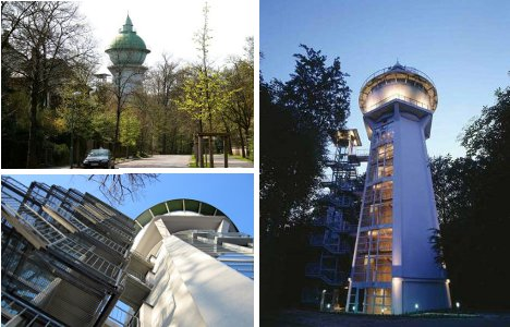 Modern Day Sky Castles 7 Cool Converted Watertower Houses