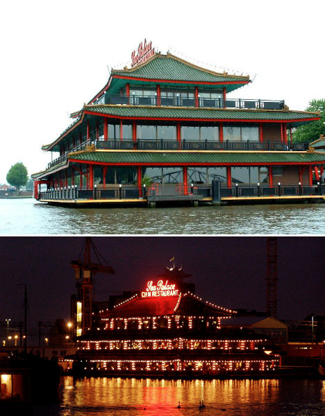 Sea Food 14 Floating Restaurants Around The World Urbanist