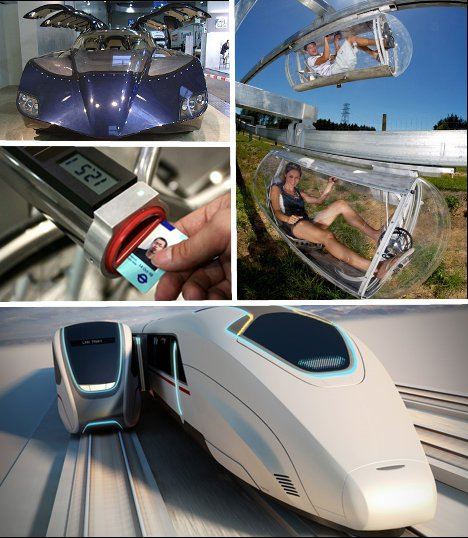 Commuter Commotion: 6 Futuristic Mass Transit Concepts