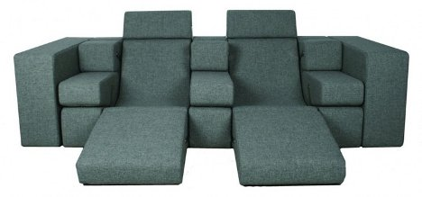 Ultimate modular sofa fits in endless configurations for Ultimate sofa bed
