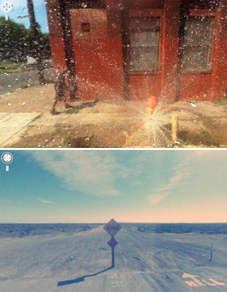 Nine Eyes of Google: Street View's Strangest Images