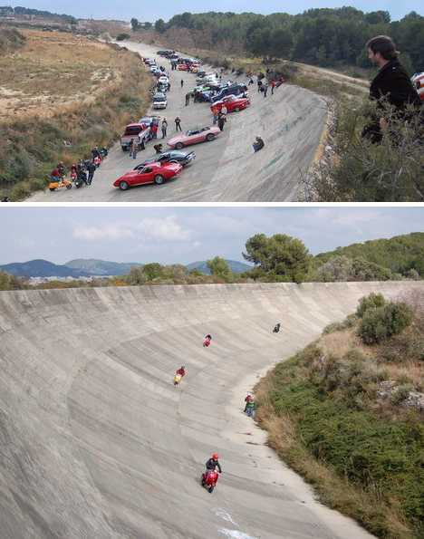 Circuito Terramar : Tired out spain s abandoned sitges terramar racetrack