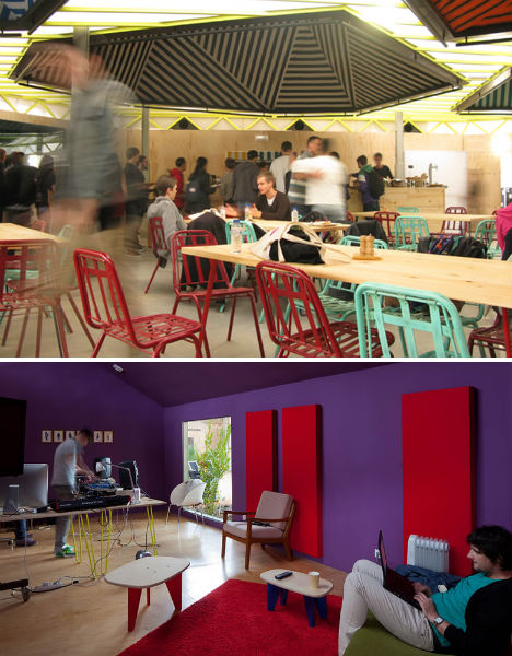 Red Bull Music Academy: Vibrant, Lush Temporary Space