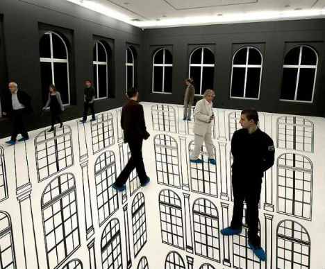 Disorienting Depth Amazing Optical Illusions In Art