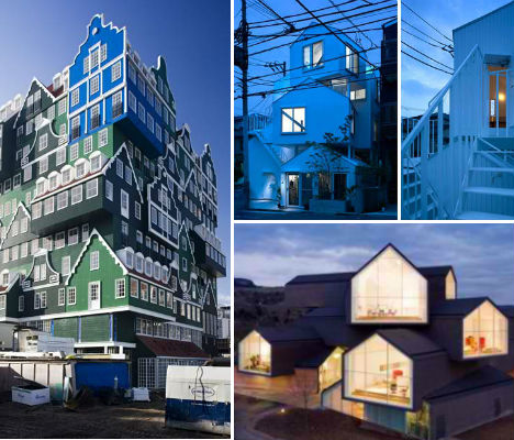Stacking in Style: New Trend Puts Houses on Houses