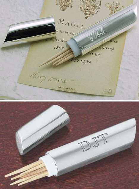 Pretty pointy 15 cool concept toothpick holders urbanist - Personal toothpick holder ...