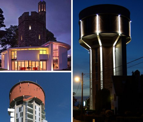 Modern-Day Sky Castles: 7 Cool Converted Watertower Houses ...