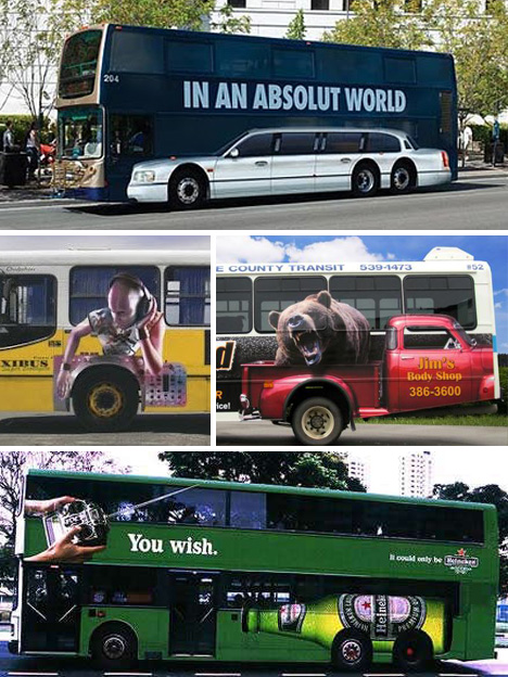 It S A Wrap 23 Compelling Mobile Bus Ads Urbanist