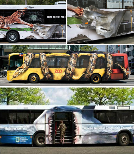 It's A Wrap! 23 Compelling Mobile Bus Ads