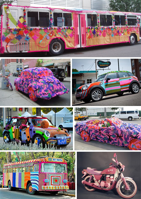 Yarn Bombs! 51 Victims of Knitted Graffiti