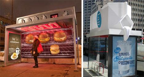 The Bus Stops Here! 34 Bus Stop Guerilla Marketing Hacks ... Creative Interactive Outdoor Advertising
