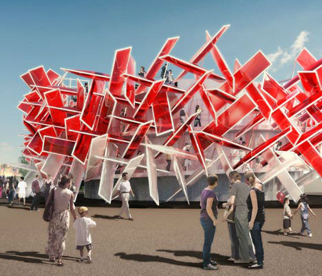 Musical Coca Cola Beatbox for the 2012 Olympics in London