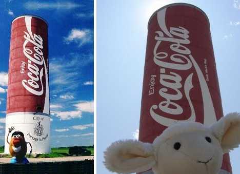 Pop Top Culture: 10 Giant Global Coca Cola Cans