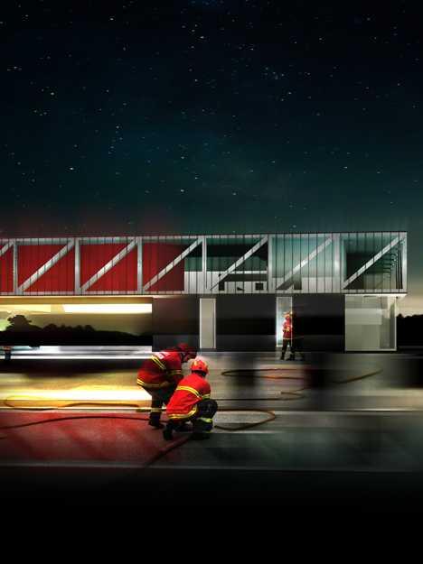 Flame Fame: 12 Red Hot Designer Fire Stations