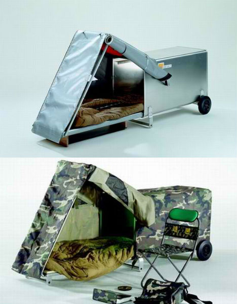 Mobile Survival Shelters : Housing for the homeless smart sensitive solutions