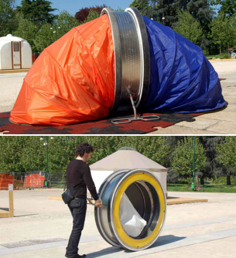 Portable Survival Shelters : Housing for the homeless smart sensitive solutions