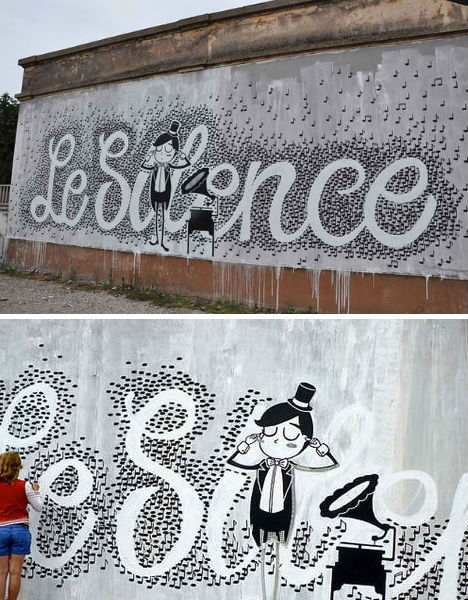 Fabulous Le Silence Made of Musical Notes