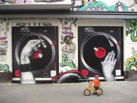 Sounds of the Street: 13 Melodic Works of Musical Graffiti