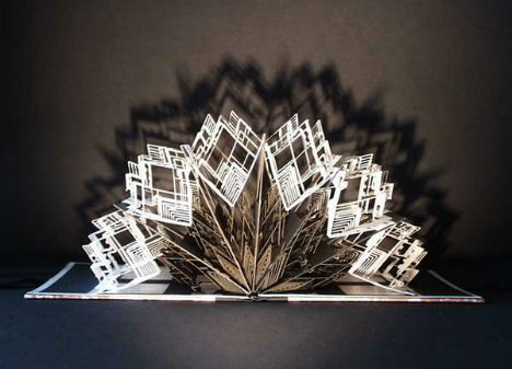 Paper Architecture Intricate 3d Sculptures By Ingrid