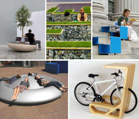 City Seats 14 Examples Of Unconventional Urban Furniture