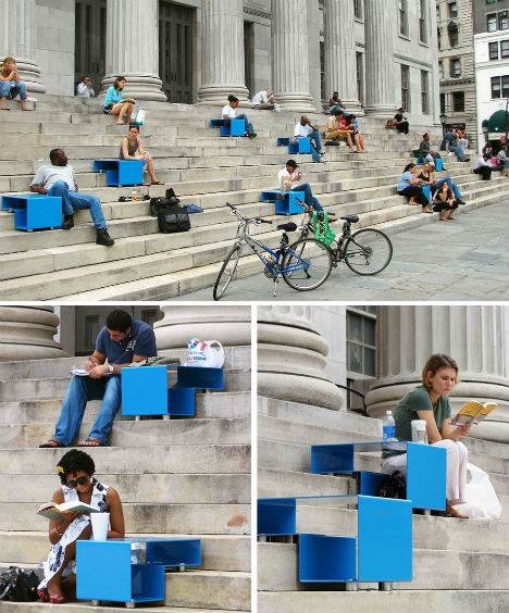 Surprising Staircase Ideas In Small Spaces Engaging: City Seats: 14 Examples Of Unconventional Urban Furniture