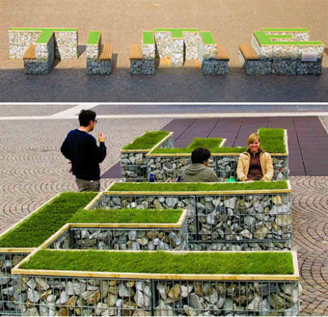City Seats: 14 Examples of Unconventional Urban Furniture