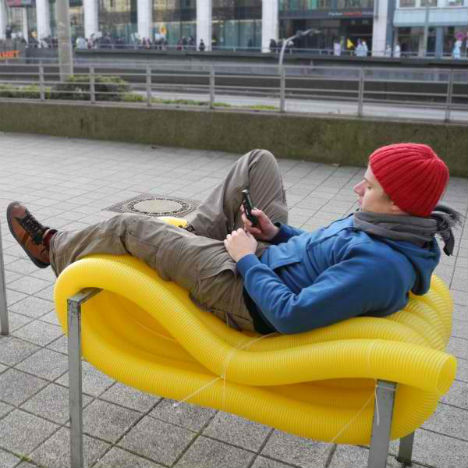 Street Seats for the People: Bold Guerrilla Furniture