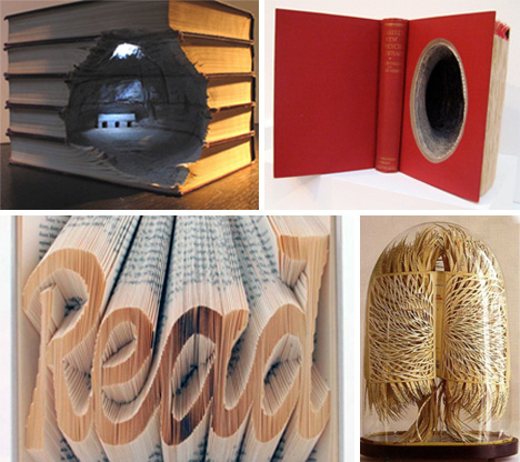 Book Art: 31 Sculptures Worth Reading About