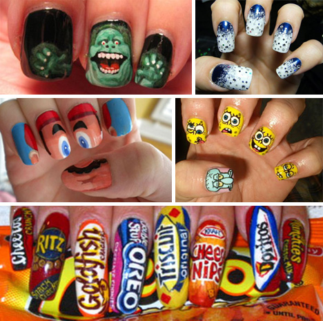 Fashionably Fun 41 Examples Of Insane Fingernail Art Urbanist