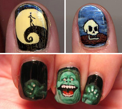 Fashionably fun 41 examples of insane fingernail art urbanist some fingernail decorations are art in their own right pro tip its much easier to do this on fake nails and add them later prinsesfo Gallery
