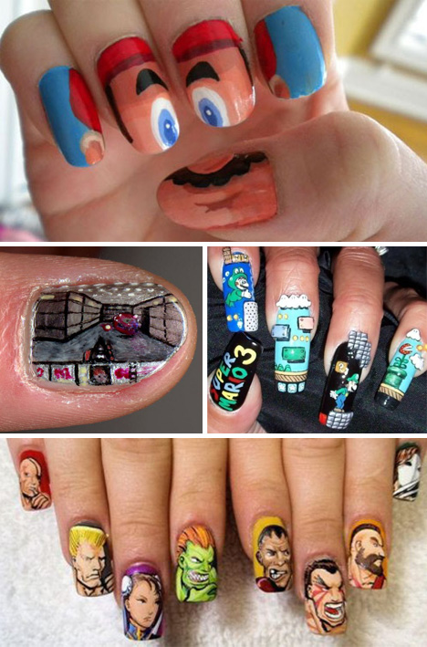 Fashionably fun 41 examples of insane fingernail art urbanist breaking out of two dimensional fingernail aesthetics are a master stroke this may not be the most functional way to adorn ones fingers prinsesfo Gallery