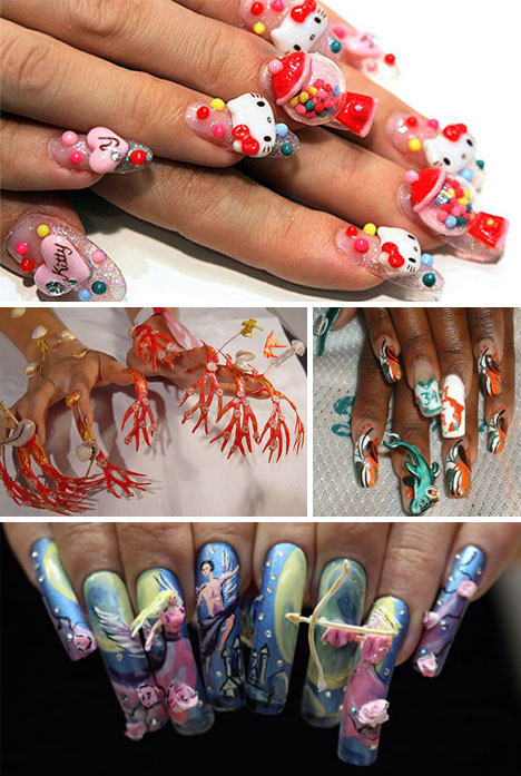 Images Via Clfmag Jezebel Odditycentral Oddee Breaking Out Of Two Dimensional Fingernail