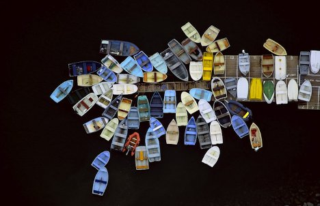 Squint to See: Almost-Abstract Aerial Photography Series ...