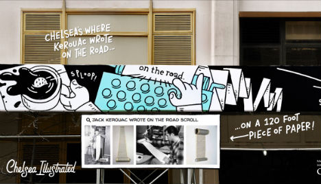 Chelsea Illustrated: Google's History Telling Mural