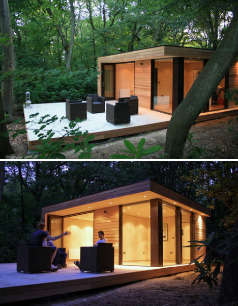 Outside Offices 14 Detached Work Pods Eggs Modules More on Small Modular Homes Floor Plans