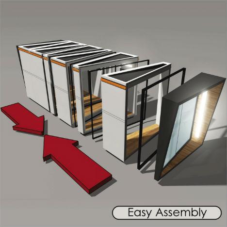 outside offices 14 detached work pods eggs modules more urbanist. Black Bedroom Furniture Sets. Home Design Ideas