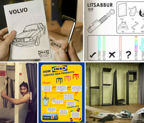 IKEA Culture: 20 Fanatical Fan Ads, Art & Design