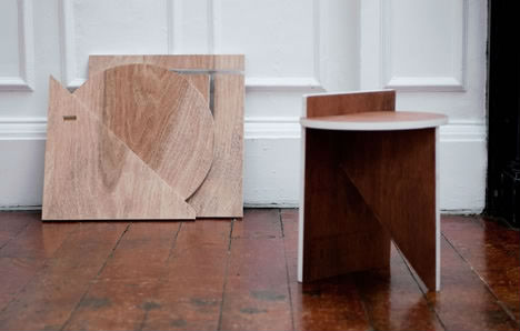 Origin III: Minimalist Furniture Inspired by Boat Building
