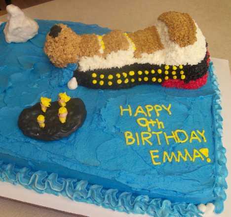 Titanic Rice Crispy Cake Image