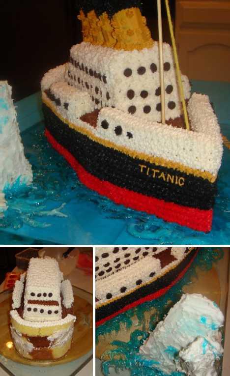 The Titanic Cake Illustrated Manual