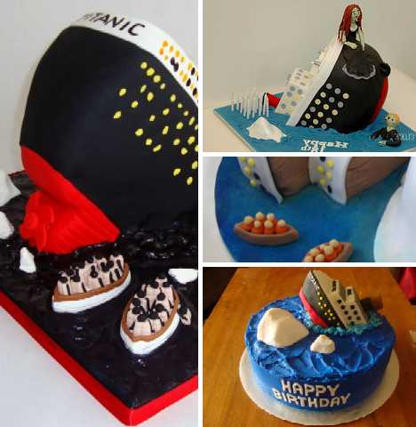 Hold The Icing A Bakers Dozen Titanic Cakes