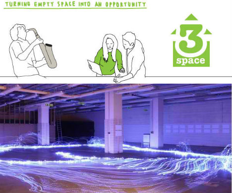 3Space: Sharing Vacant Spaces with the People